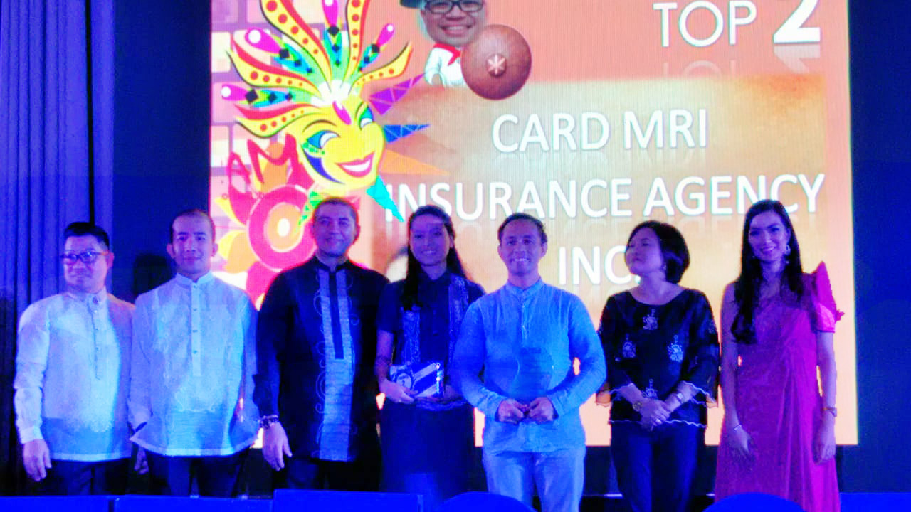 Pacific Cross Philippines recognizes CaMIA as Top 2 Producer Agent for 2017