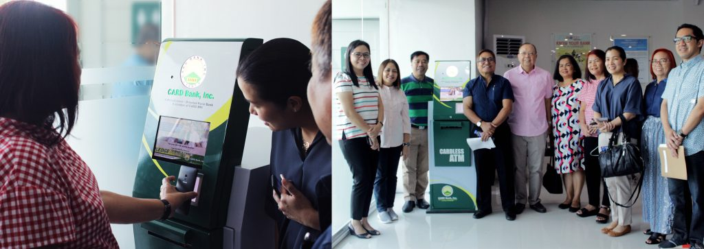 CARD Bank launches cardless ATM