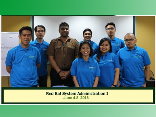 Certification Red Hat System Administration (June 4-8, 2018)