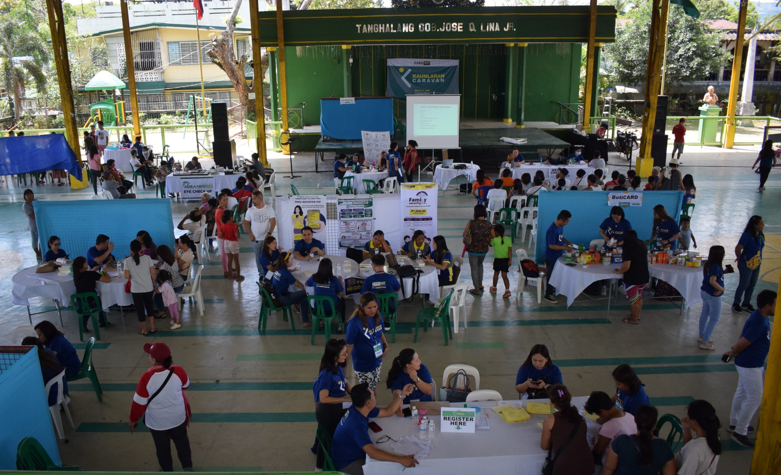 CARD MRI RBI holds Community Health Day during Kaunlaran Caravan in Sta. Maria, Laguna