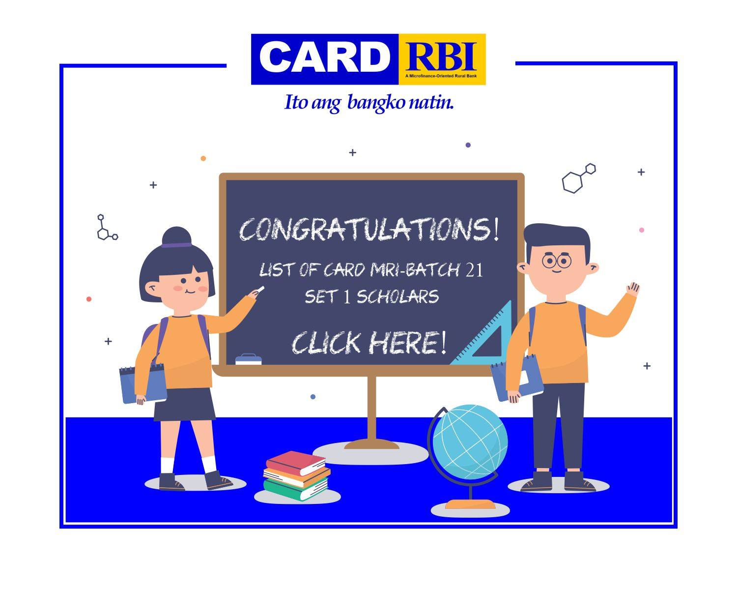 List of CARD MRI-Batch 21- SCHOLARS (CARD RBI)