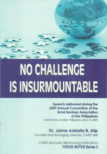 No Challenge is Insurmountable